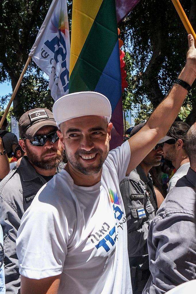 Amir Ohana na Gay Pride v Tel Avivu, 2015