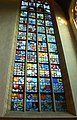 Amsterdam - Oude Kerk - Stained glasse window CoA.JPG