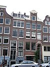 amsterdam bloemgracht 158 and 160 across