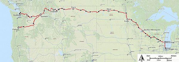 Empire Builder Seattle To Chicago Travel Blog