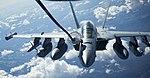 An EA-18G Growler conducts air-to-air refueling. (34677293975).jpg