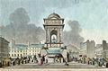 Ancienne fontaine des Innocents. Replacée au milieu du marché.jpg
