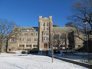 Andover Theological Seminary - Andover Hall at Harvard Divinity School, commissioned by the Andover Theological Seminary