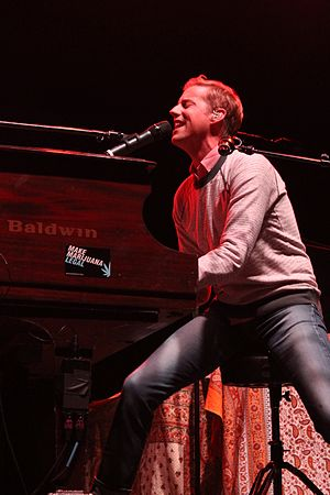 Andrew McMahon - Andrew McMahon performing in July 2014