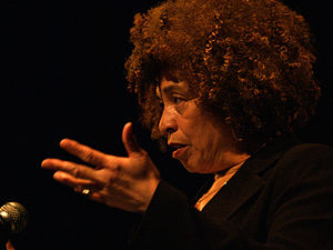 Black feminism - Angela Davis speaking at the University of Alberta on March 28, 2006