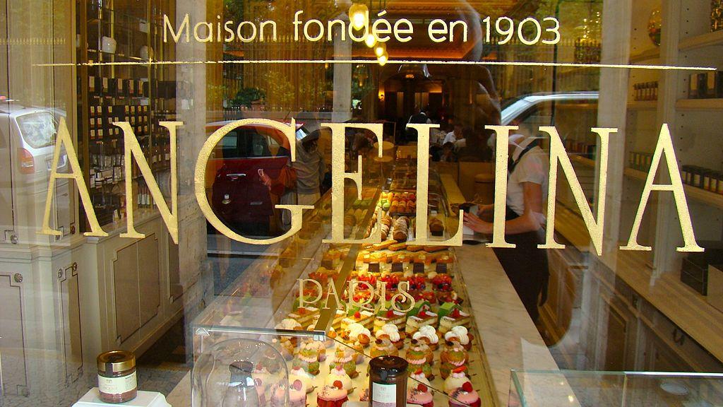 Angelina Caf Ef Bf Bd Rue De Rivoli