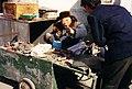Angry old street seller Beijing 1995.JPG