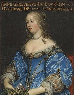 Anne Geneviève de Bourbon Duchess of Longueville