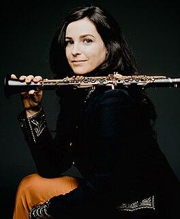 Annelien Van Wauwe Belgian clarinetist