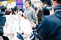 Announcement of New Era 'Reiwa' at Shibuya Station (49316763316).jpg