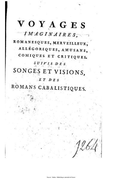 File:Anonyme ou Collectif - Voyages imaginaires, songes, visions et romans cabalistiques, tome 2.djvu