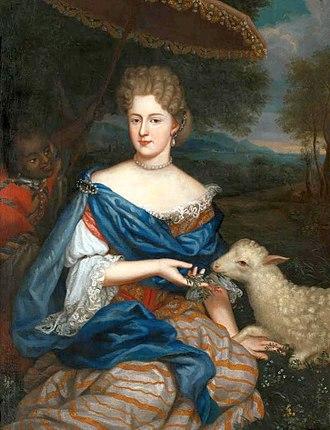 Duchess of Bouillon - Image: Anonymous Marie Charlotte Sobieska