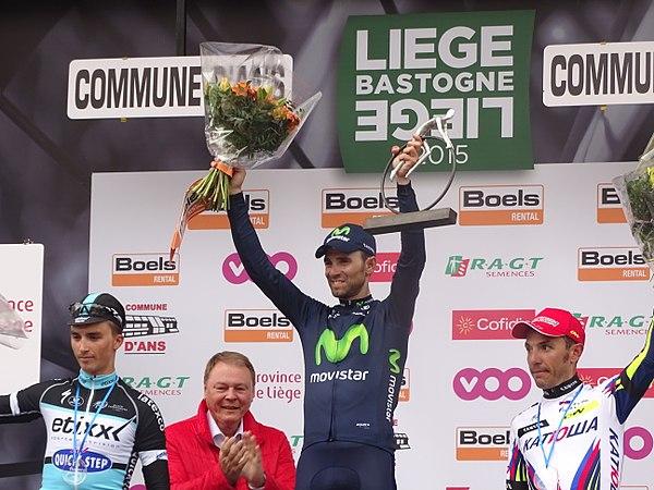 Ans - Liège-Bastogne-Liège, 26 avril 2015, arrivée (B22).JPG