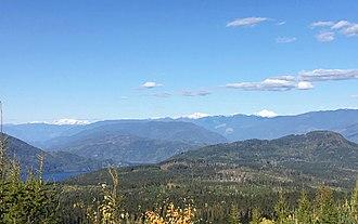 Anstey Range - Image: Anstey Range BC