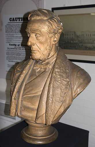 A land without a people for a people without a land - Image: Anthony Ashley Cooper bust