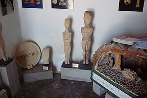 Antiparos - Exhibits at the local museum