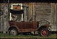 Antique Car in Front of a Barn, 05-1972 (3703572507).jpg