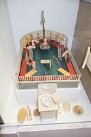 Antique toy baby bathhouse (26772507976).jpg