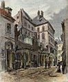 Antonín Lewý - Stará pošta v Židovském městě.jpg