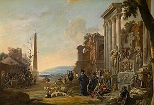 Anton Goubau - The Study of Art in Rome
