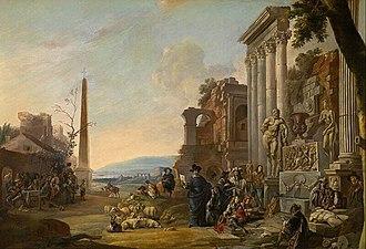 Anton Goubau - The Study of Art in Rome