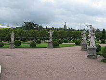 Antonio Bonazza-Zephyrus Flora Pomona and Vertumn- Upper Gardens of Peterhof.jpg
