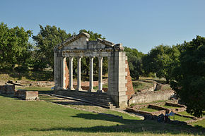Apollonia, Albania (by Pudelek) - Monument of Agonothetes.JPG