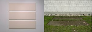 Morris and Helen Belkin Art Gallery - Arabella Campbell, 3 rectangles make a square (2005)