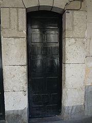 Aranda de Duero, Hand Carved Wooden Door, pic bb477.jpg