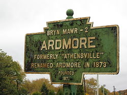 Official logo of Ardmore, Pennsylvania