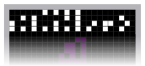 Arecibo message - Image: Arecibo message part 1