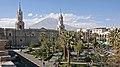 Arequipa, Plaza de Armas and Volcan El Misti - panoramio.jpg