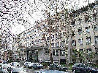 University of Zagreb - Image: Arhitektonski fakultet u Zagrebu