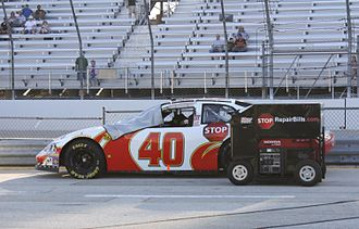 Aric Almirola - Almirola's No. 40 Nationwide car in 2009