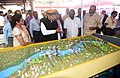 Arjun Ram Meghwal visiting the Technological Exhibition, at the inauguration of the International Dam Safety Conference, at Kovalam, in Thiruvananthapuram.jpg
