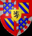 Coat of arms of John the Fearless, Duke of Burgundy etc.