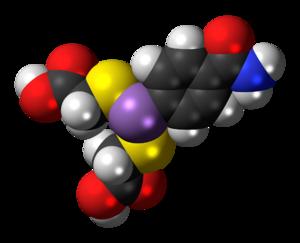Arsenamide - Image: Arsenamide 3D spacefill