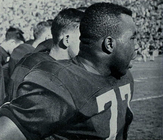 Art Walker (gridiron football) - Art Walker in 1954