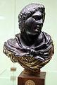 Arte romana con restauri moderni, busto ercole.JPG