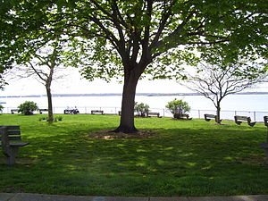 Easton's Point - Battery Park in Newport