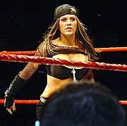 Ashley Massaro, the 2005 Diva Search winner