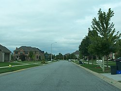 Ashwood Ln. in White Oak, Munster, Indiana.jpg
