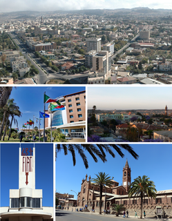 Asmara Capital of Eritrea