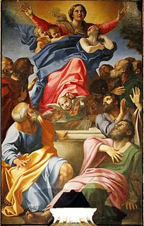 painting by Annibale Carracci (Santa Maria del Popolo)