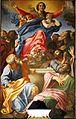 Assumption of Mary - Cerasi Chapel - Santa Maria del Popolo - Rome 2015.jpg