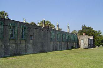 Atalaya Castle (US) - Image: Atalaya north side