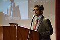 Atanu Saha Addressing - Inaugural Function - Bengali Wikipedia 10th Anniversary Celebration - Jadavpur University - Kolkata 2015-01-09 2511.JPG