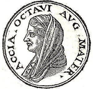 Atia (mother of Augustus) - Image: Atia Balba Caesonia