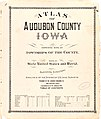Atlas of Audubon County, Iowa - containing maps of townships of the county, maps of state, United States and world, farmers directory, analysis of the system of U.S. land surveys. LOC 2007626985-2.jpg