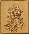 Attila the Hun. Drawing, c. 1789. Wellcome V0009107.jpg